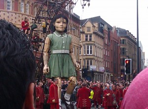 Little Girl Giant from the 2012 visitation