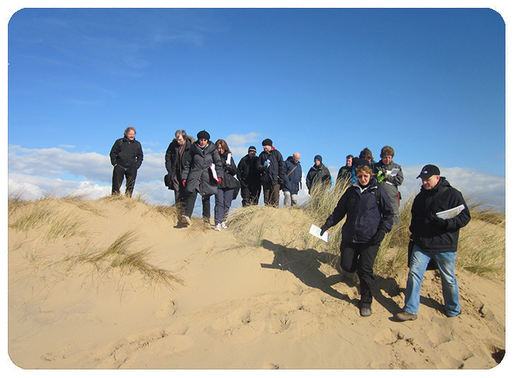 Group at Formby
